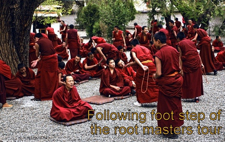 Following foot step of the root masters