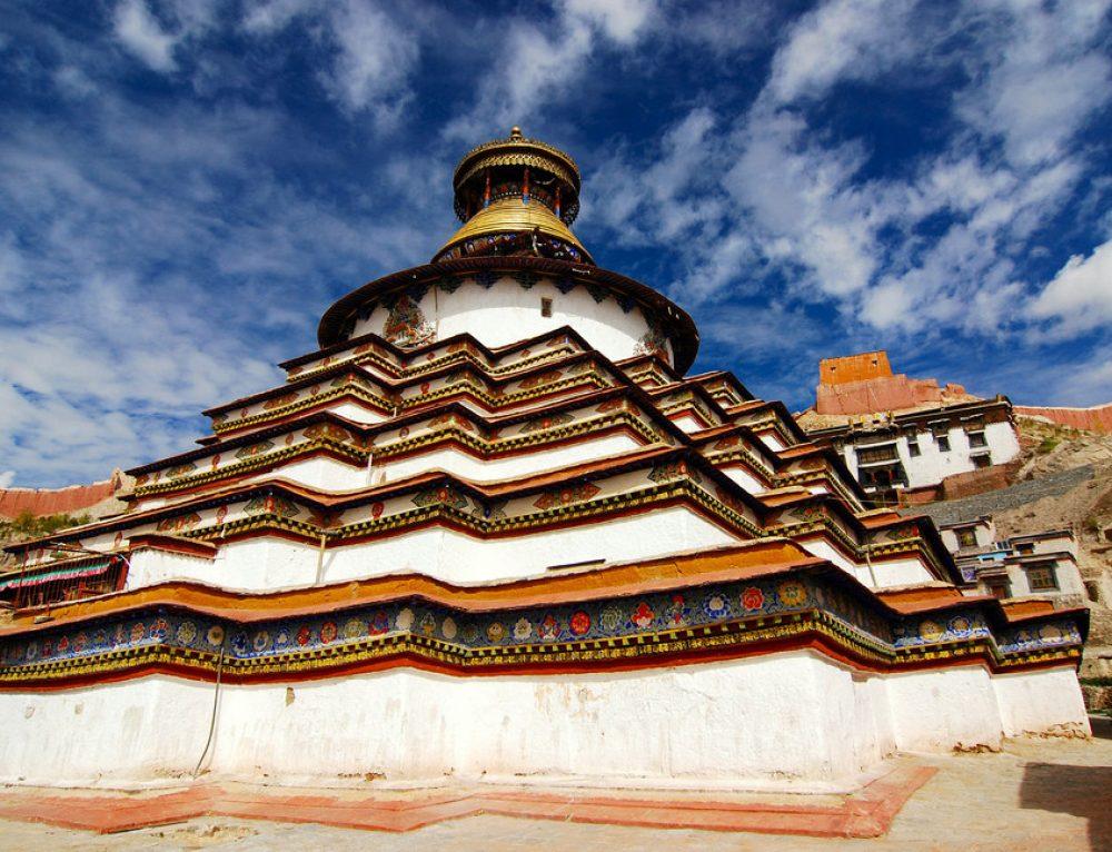 Tibetan Buddhist Stupa མཆོད་རྟེན་པ་།
