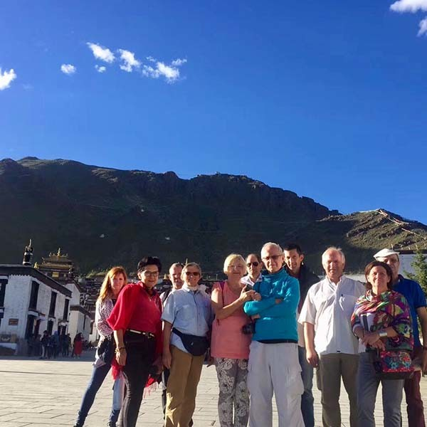 Tibet Group tour for old ages