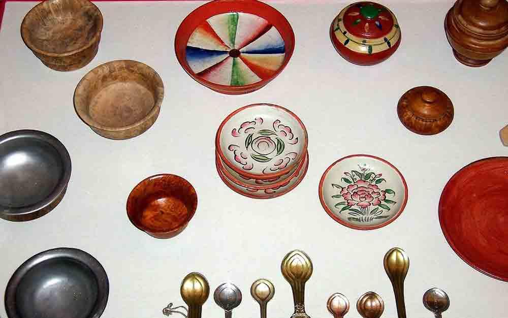 TibetanBowls,Spoons, Tibetan diet