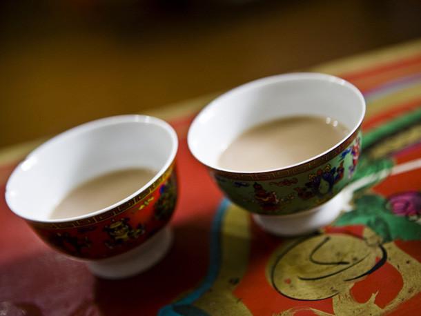 Tibetan Yak butter tea