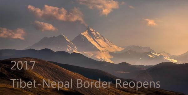 Tibet nepal border reopens 2017