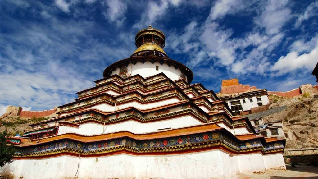 Gyantse Kumbum Stupa, Tibet