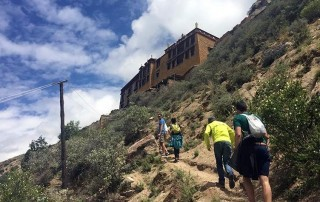 trekking in Lhasa city