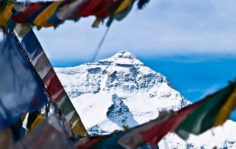 Mt Everest View from Tibet