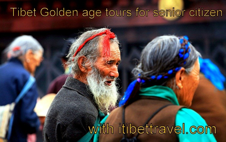 Golden age Tibet tours for senior citizen