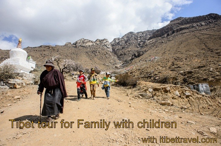 Tibet travel and tours for Family with children