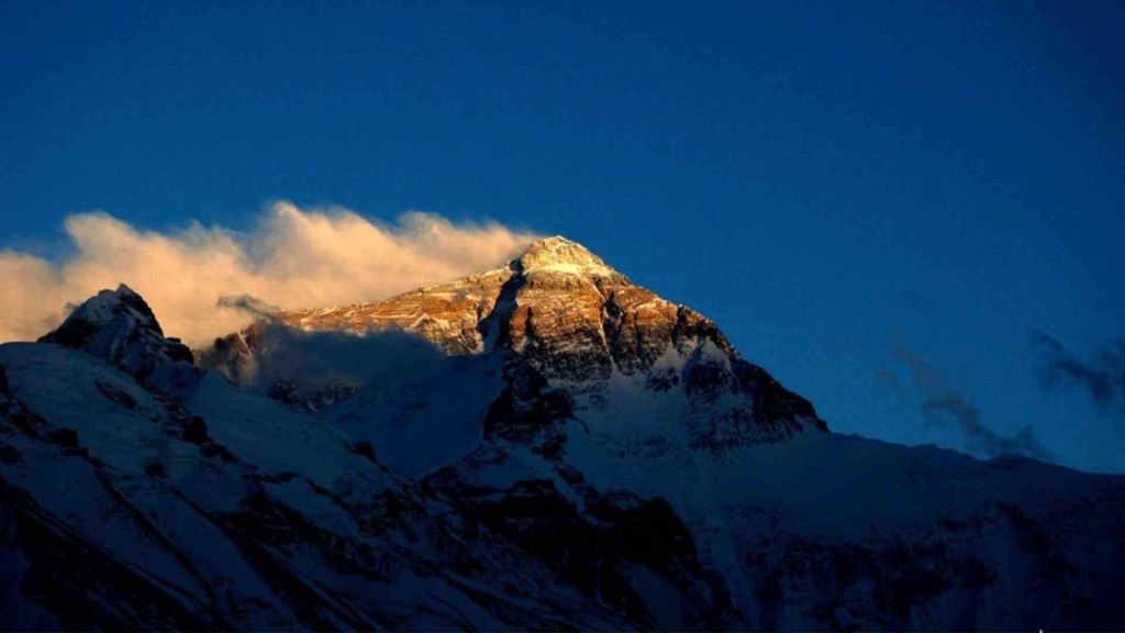 Mount Everest from Tibet
