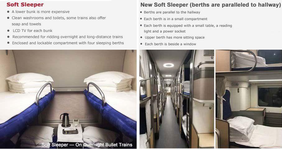 Soft Sleeper train
